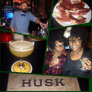3rd stop at Husk Restaurant trying their Repeal Day cocktail call Daryl's Dad Darby cocktail. It was made with Old Grandad grapefruit juice, lime and agave. It was great! Love whiskey and grapefruit juice together.