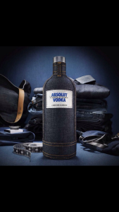 Absolut Denim Ad