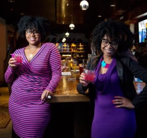 Curly Ladies Who Talk Cocktails Daily