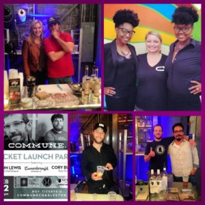 Really enjoyed working with all these good folks during the Commune dinner Sunday night. Love collaborating with other businesses.  #cocktailbandits @stripedpigdistillery @catheadvodka @b_cannonbevco @cocktailbandits @lewisbarbecue @communechs @iheartrotirolls @melanin007 @locavorelawyer