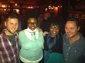 Jack McGarry, Johnny Caldwell, Taneka Reaves, Sean Muldoon