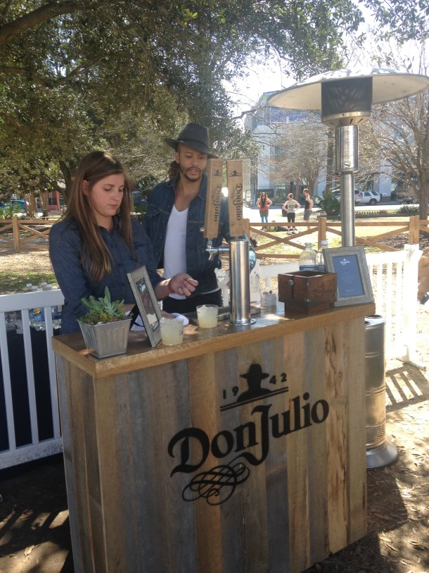 Tequila Don Julio Paloma Bar