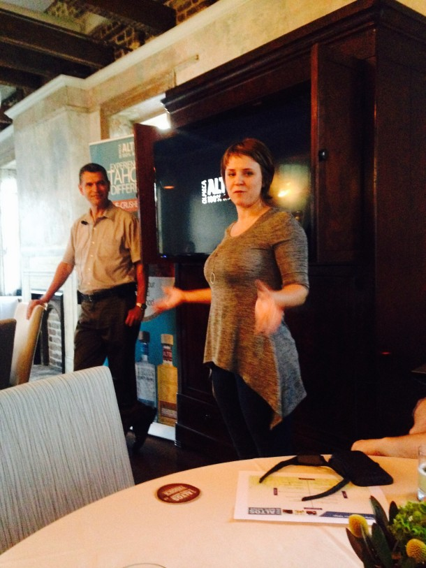 USBG Secretary and 492 bar manager, Megan Deschaine, gave the group a brief update on chapter business.