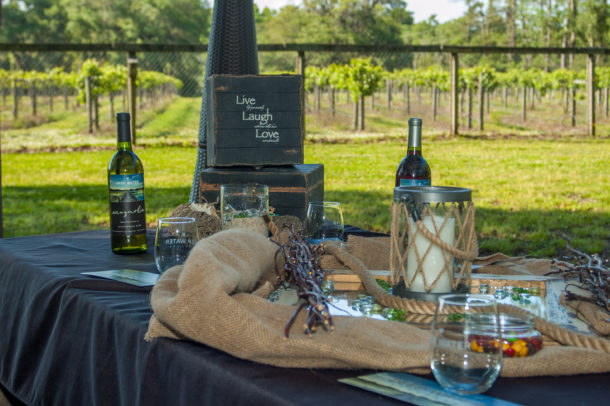 It's so beautiful at the vinyard! Photo: Dinwiddie Photography