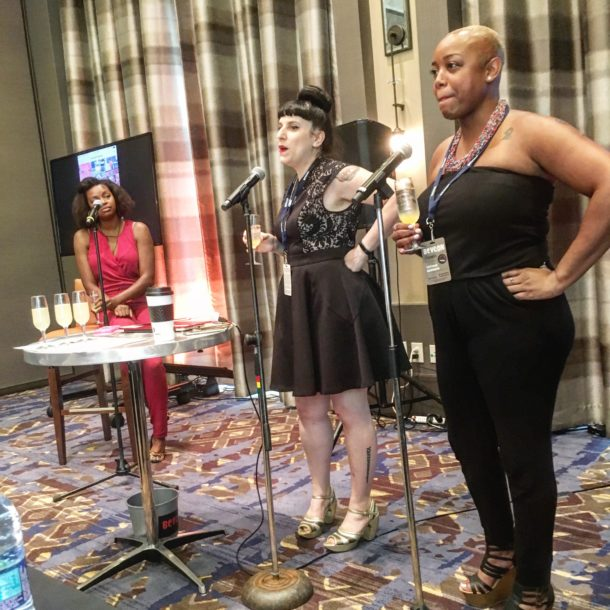 Kat Kinsman and Tiffanie host the French 75 seminar